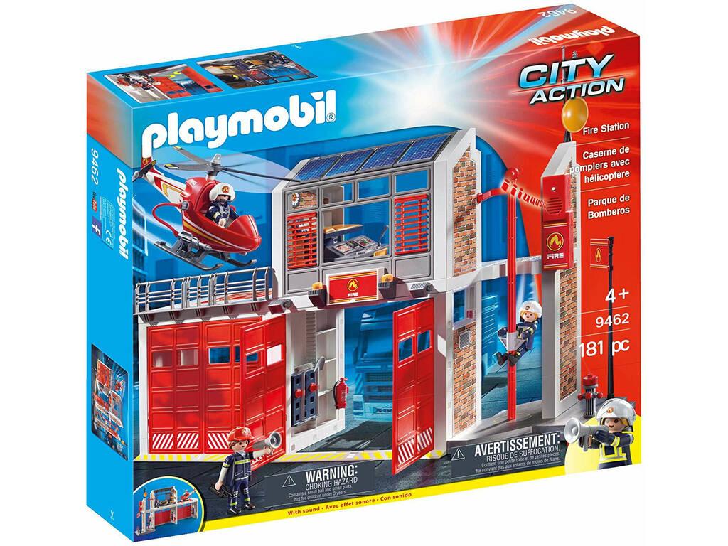 Playmobil City Action Grande Centrale dei Vigili del Fuoco 9462