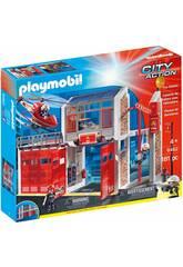 Playmobil Parque de Bomberos con Sonido 9462