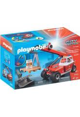 imagen Playmobil Bomberos Vehículo Elevador 9465