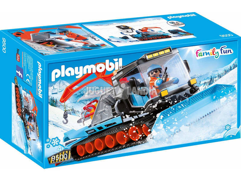 Playmobil Quitanieves 9500