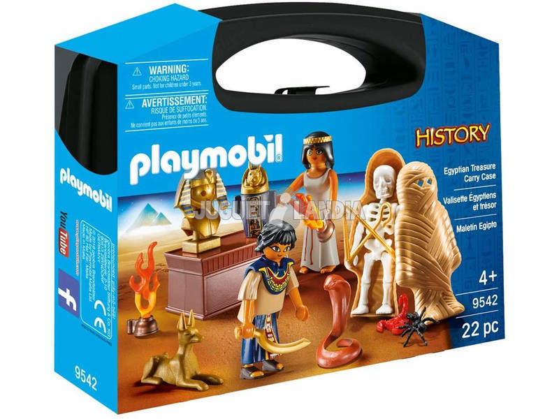 Playmobil Mallette Egypte 9542