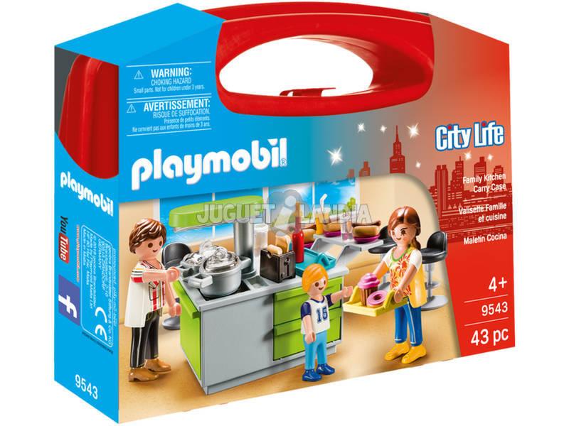 Playmobil Maletin Cocina 9543