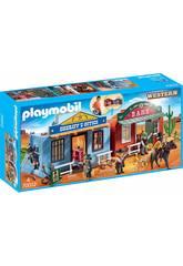 imagen Playmobil Maletín Ciudad del Oeste 70012