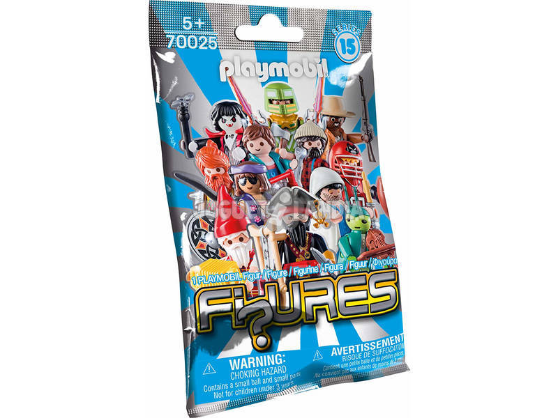 Playmobil Figuras Personagens Masculinos Series 15 70025