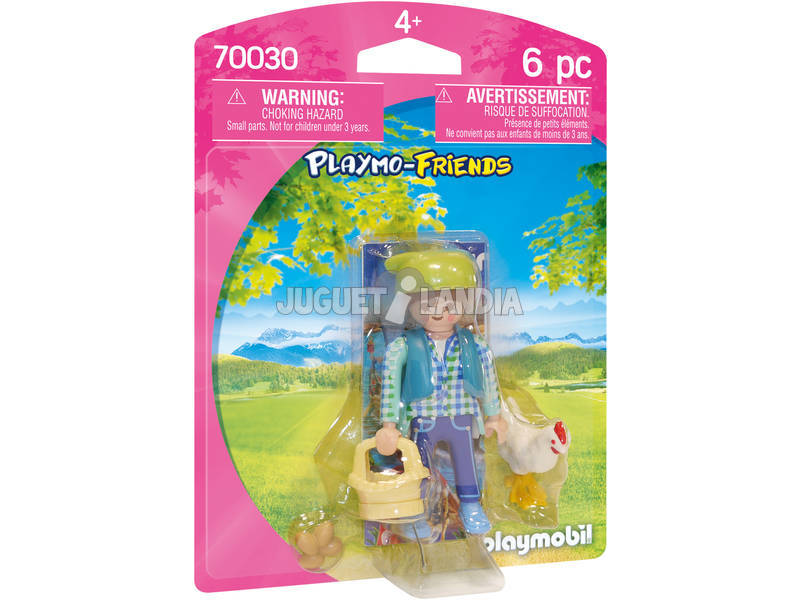 Playmobil Contadina 70030