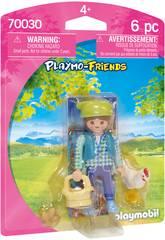 imagen Playmobil Granjera 70030