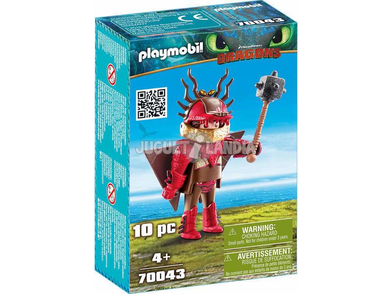 Playmobil Dragons Moccicoso con tuta da volo 70043