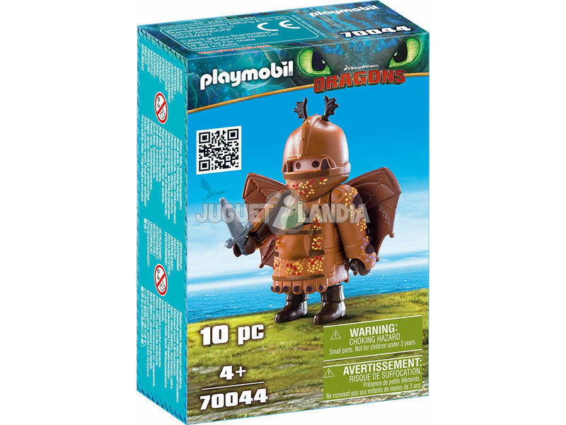 Playmobil Comme Dresser a votre Dragon Varek Avec Costume Volant 70044