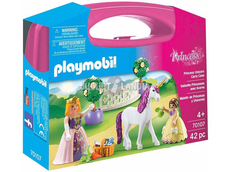 Playmobil Maletín de Princesas y Unicornio 70107
