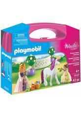 imagen Playmobil Maletín de Princesas y Unicornio 70107
