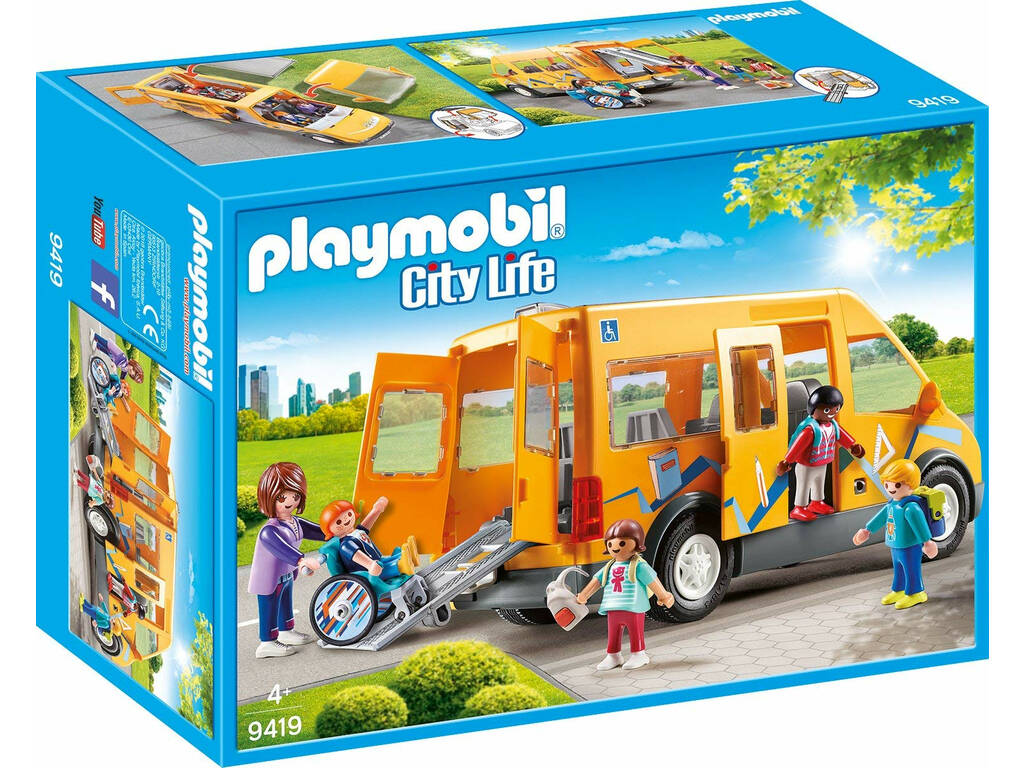 Playmobil Transporte Escolar 9419