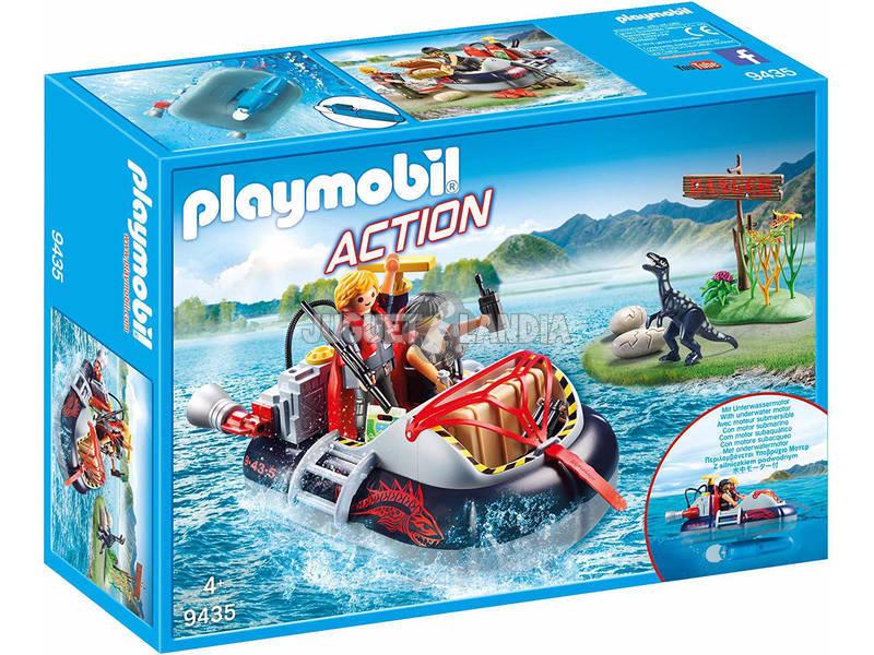 Playmobil Aerodeslizador con Motor Submarino 9435