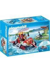 imagen Playmobil Aerodeslizador con Motor Submarino 9435