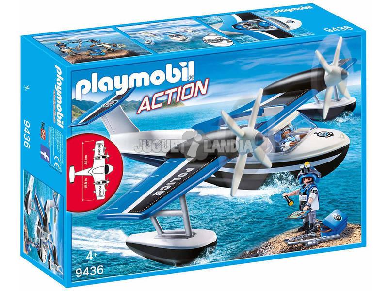 Playmobil Hidroavião da Polícia 9436