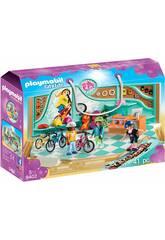 imagen Playmobil Tienda de Bicicletas y Skate 9402
