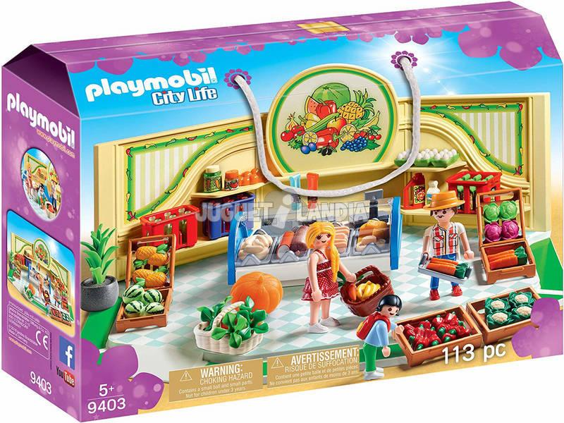 Playmobil Tienda de Frutas y Verduras 9403