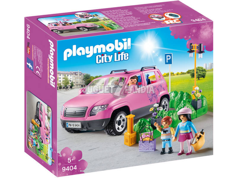 Playmobil Carro Familiar com Lugar de Estacionamento 9404