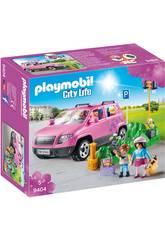 imagen Playmobil Coche Familiar con Parking 9404