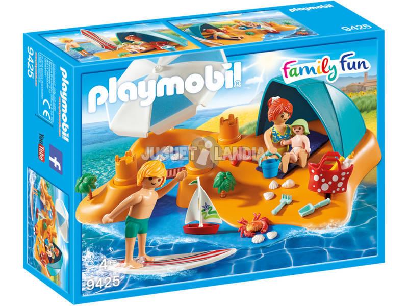 Playmobil Famiglia al Mare 9525