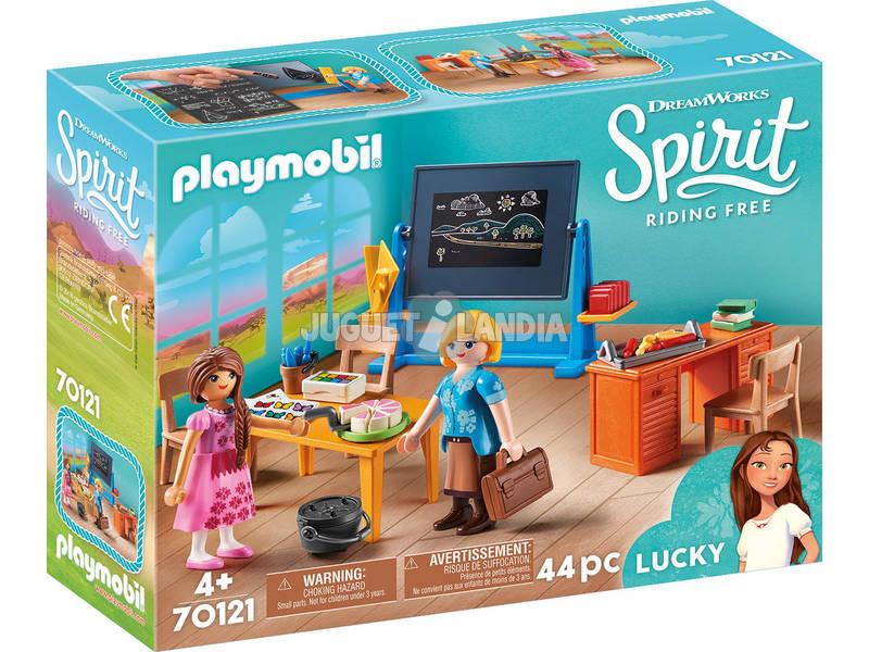 Playmobil Spirit Riding Free Classe della Signorina Flores 70121