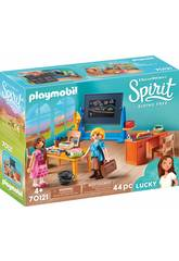 imagen Playmobil Spirit Clase Señorita Flores 70121