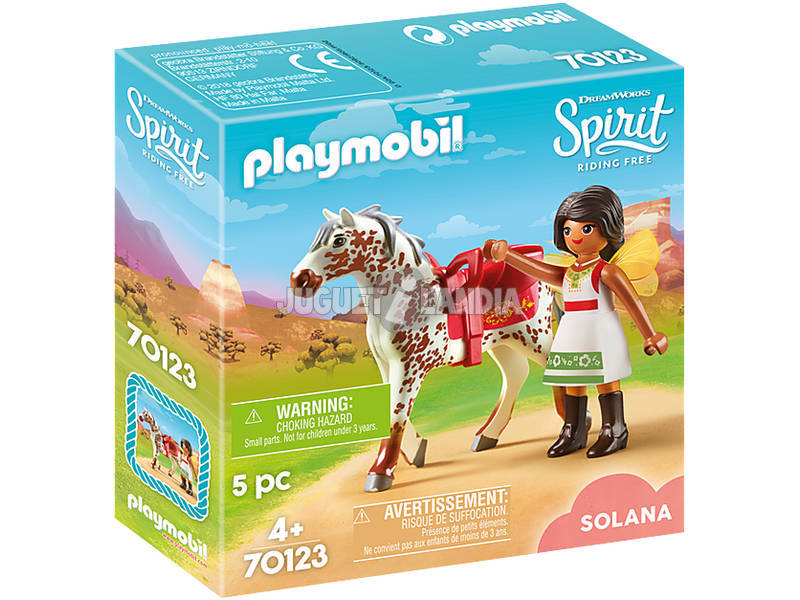 Playmobil Spirit Riding Free Solana con cavallo 70123