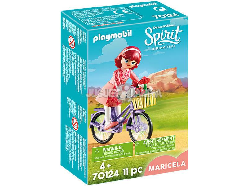Playmobil Maricela com Bicicleta 70124