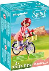 imagen Playmobil Maricela con Bicicleta 70124