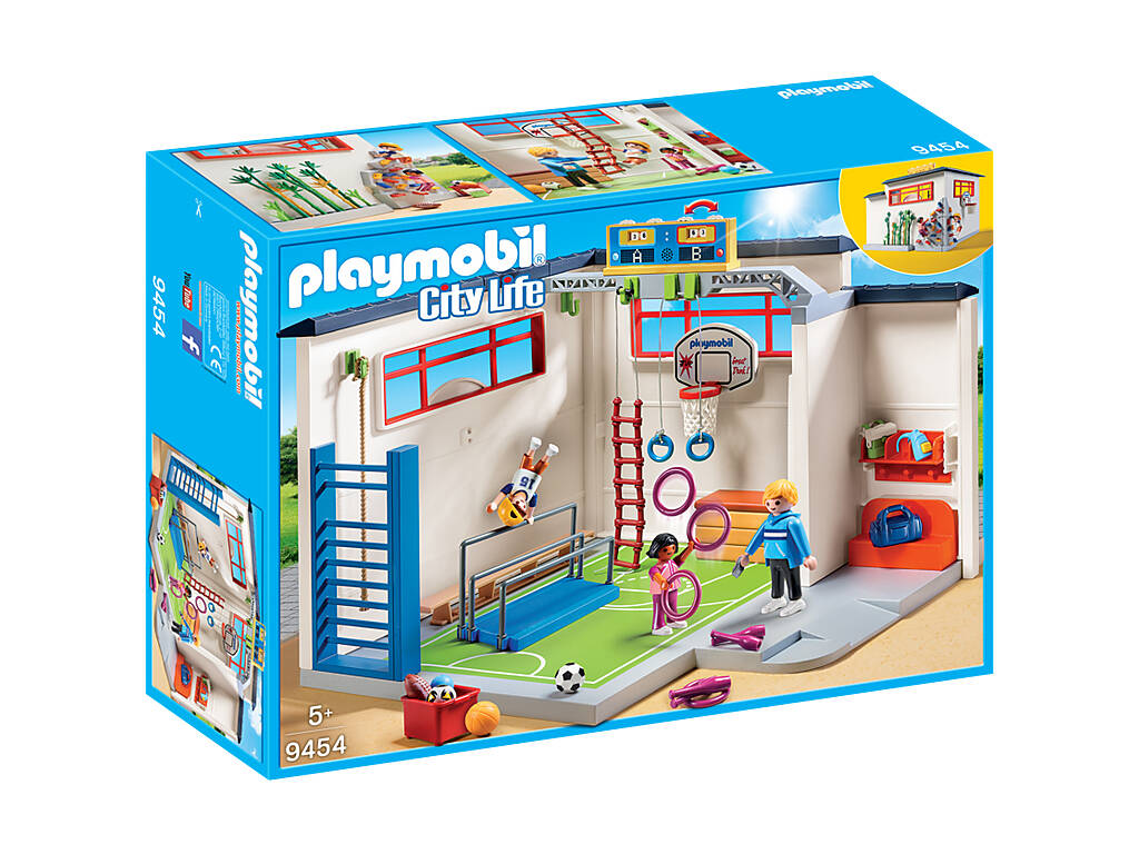Playmobil City Life Palestra con attrezzi 9454