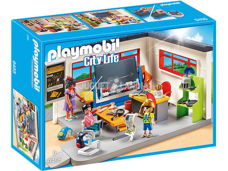 Playmobil Classe d'Histoire 9455