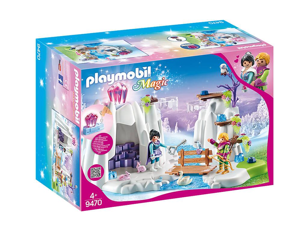 Playmobil Busqueda del Diamante de Cristal 9470