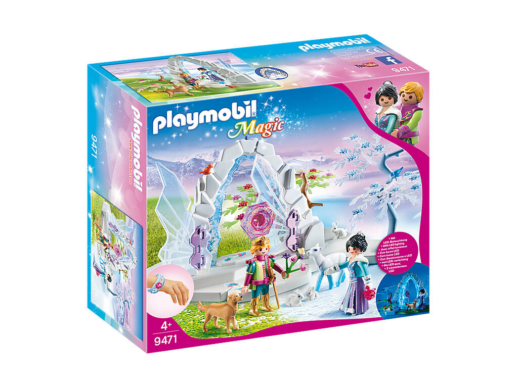 Playmobil Magic Portale del Mondo dei Ghiacci 9471