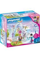 Playmobil Portail de Cristal au Monde de l'Hiver 9471