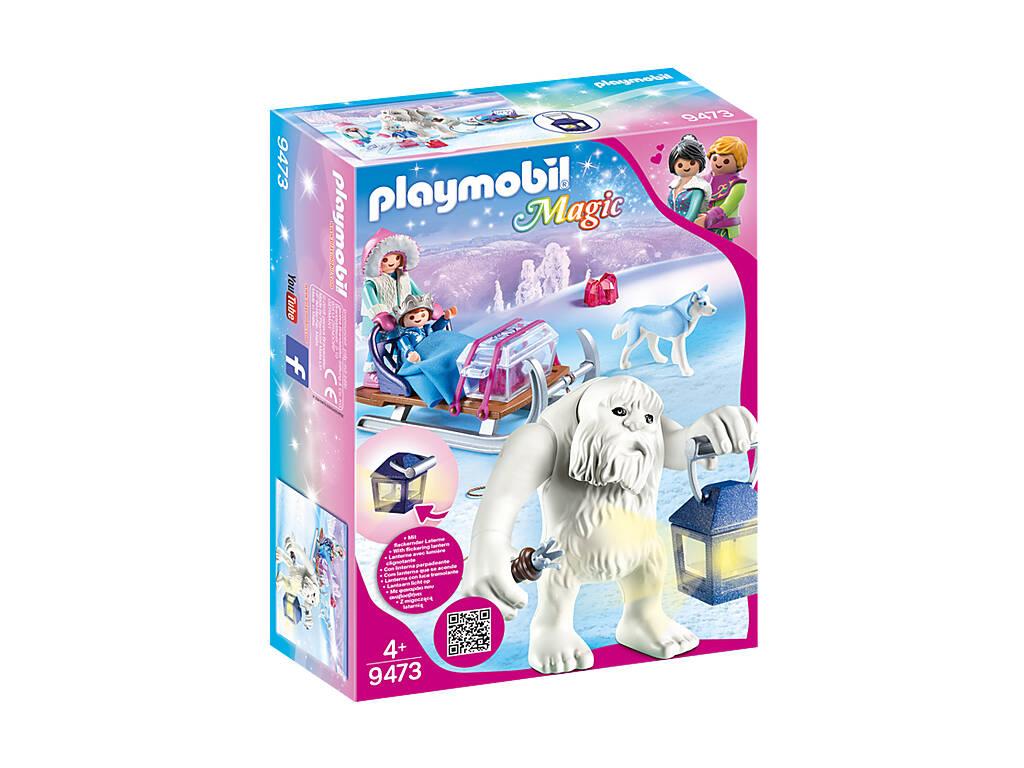 Playmobil Troll de Neige avec Traineau 9473