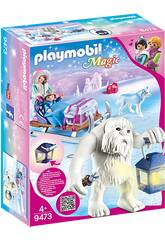 Playmobil Magic Troll delle nevi con slitta 9473