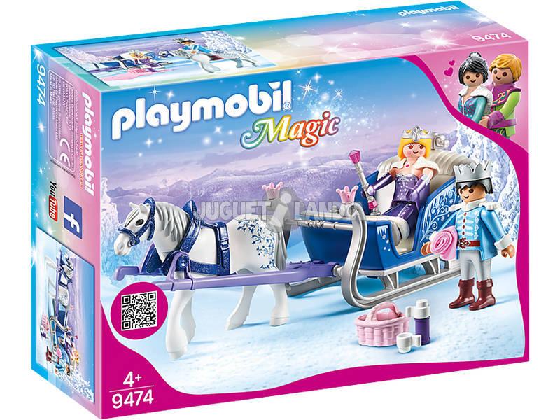 Playmobil Trineo con Pareja Real 9474