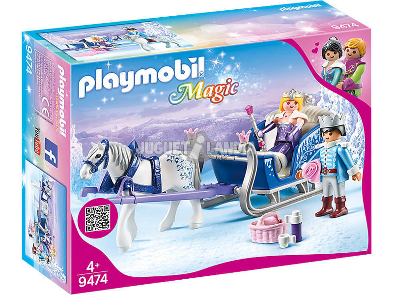 Playmobil Trenó com o Casal Real 9474