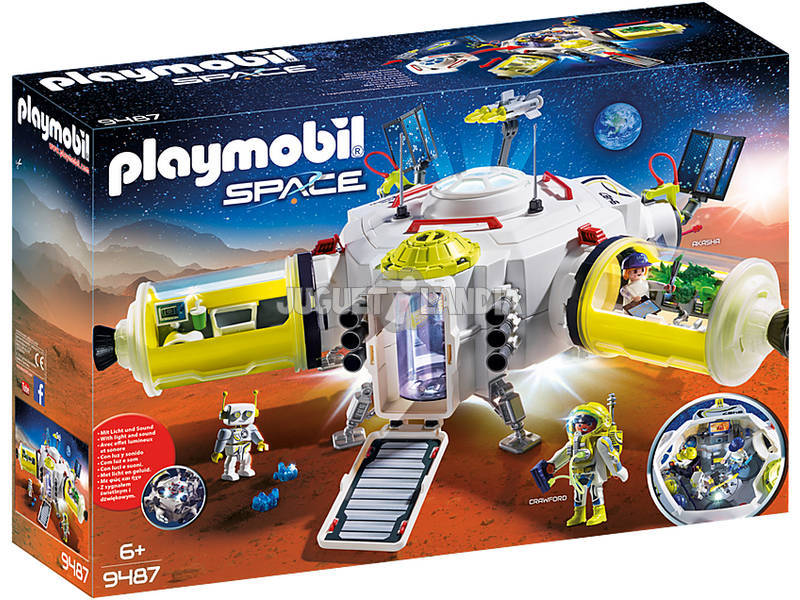 Playmobil Estação de Marte 9487