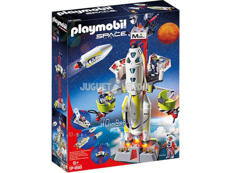 Playmobil Fusée avec Plateforme de Lancement 9488