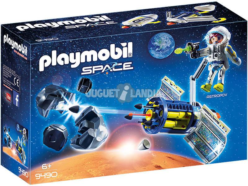 Playmobil Space Satellite distruggi meteoriti 9490