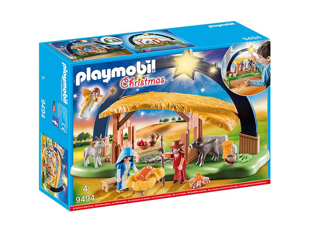 Playmobil Presépio com Luz 9494