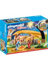 Playmobil Christmas Presepe illuminato 9494