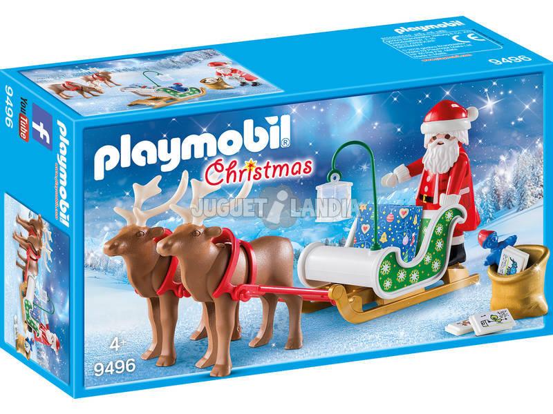Playmobil Trienó de Papai Noel com Renas 9496