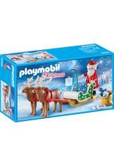 imagen Playmobil Trineo de Papa Noel con Renos 9496