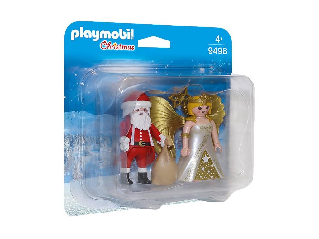 Playmobil Duo pack Papa Noel con Angel 9498