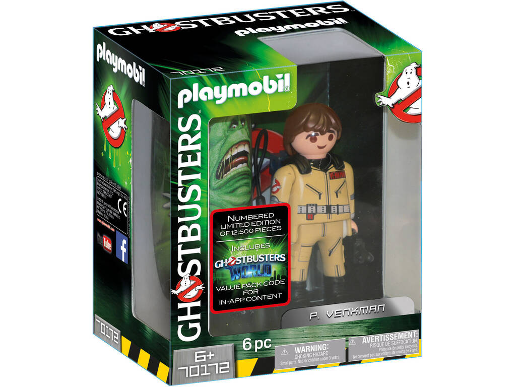 Playmobil Ghostbusters Figurine de Collection P. Venkman 70172