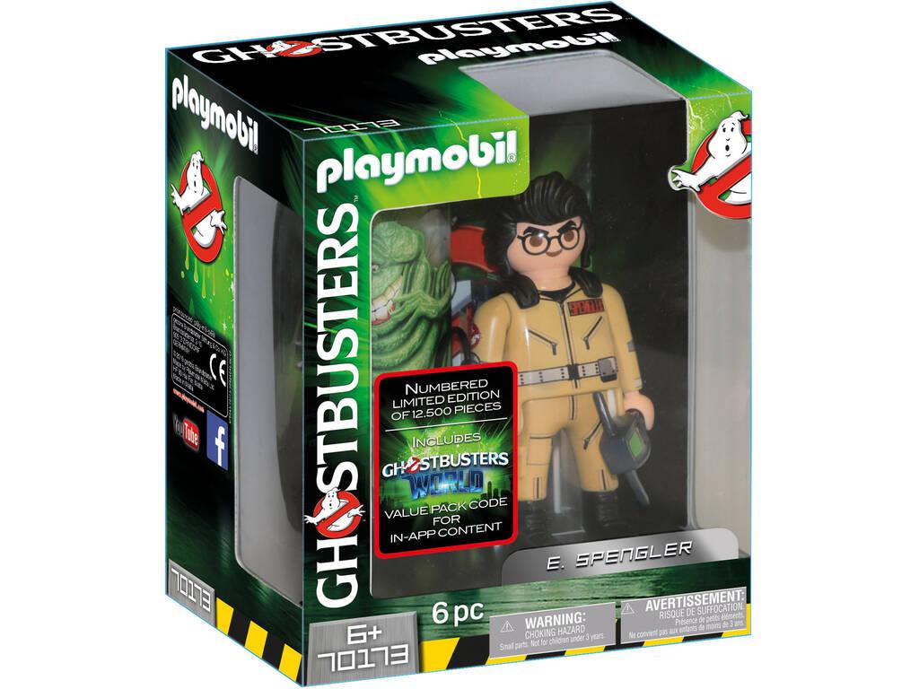 Playmobil Caça fantasmas Figura Colecionável E. Spengler 70173
