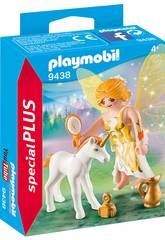 Playmobil Fée du Soleil avec Licorne 9438