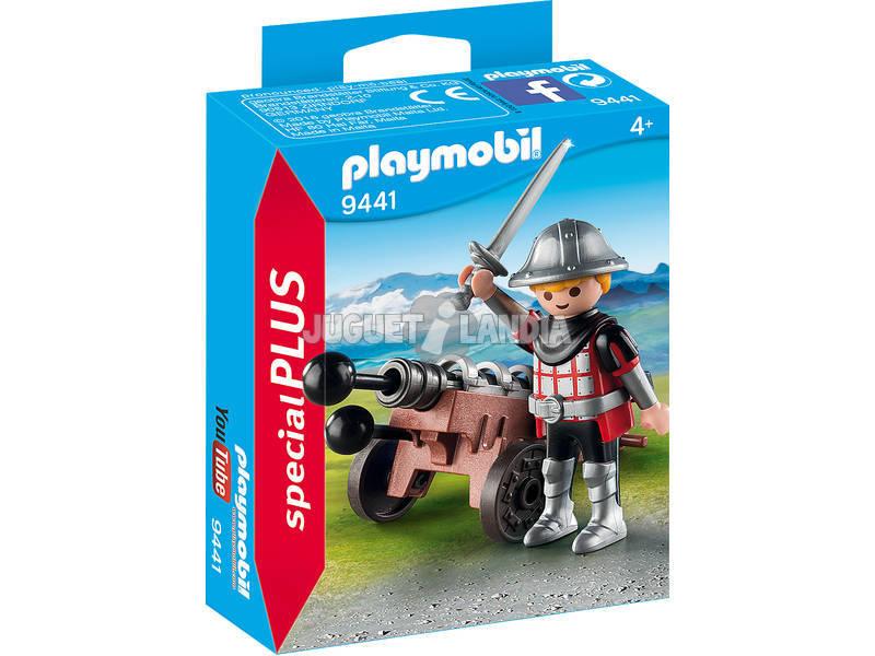 Playmobil Caballero con Cañon 9441