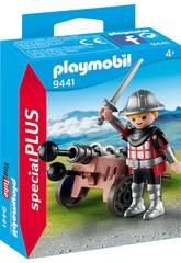 imagen Playmobil Caballero con Cañon 9441